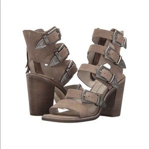 Dolce Vita Layell Strappy Buckle Heal